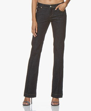 MKT Studio The Janis Wilson Flared Jeans - Sydney Wash