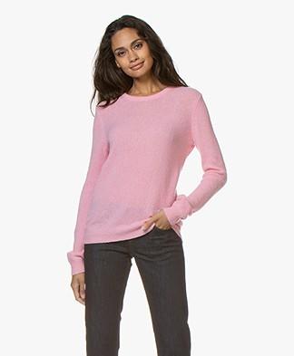 American Vintage Nanibeach Round Collar Sweater - Rose