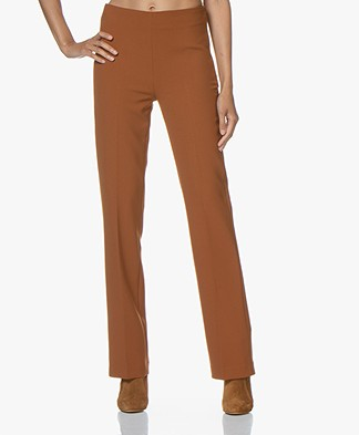 no man's land Pants with Straight Legs - Cinnamon