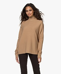 Drykorn Liora Virgin Wool Turtleneck Sweater - Warm Sand