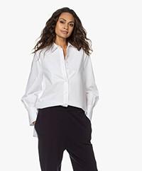 By Malene Birger Martigues Katoenen Poplin Overhemd - Pure White