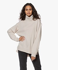 Filippa K Molly Wool Blend Turtleneck Sweater - Ivory
