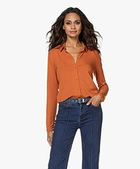 Majestic Filatures Superwashed Jersey Blouse - Clay