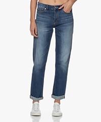 Denham Bardot Straight Fit Jeans - Blauw