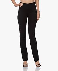 Filippa K Pina Punto Jersey Viscose Pants - Black
