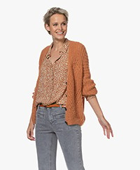 indi & cold Chunky Knitted Cardigan - Calabaza