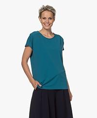 JapanTKY Yonas Light Travel Jersey T-shirt - Emerald Soft