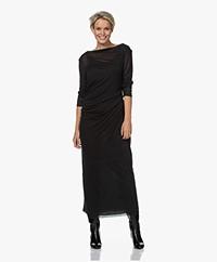Filippa K Uma Lyocell-Cashmere Blend Dress - Dark Spruce