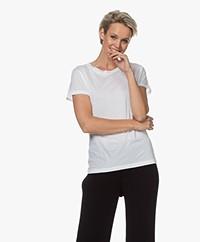 Filippa K Katoenen R-hals T-shirt - Wit