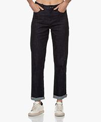 Denham Bardot Straight Fit Jeans - Donkerblauw