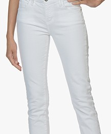 Current/Elliott The Stiletto Skinny Jeans - White 0 Years Worn