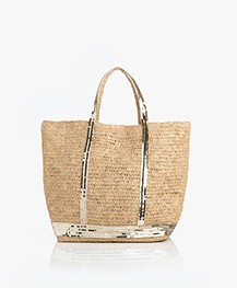 Vanessa Bruno Cabas Grand Shopper - Licht Goud