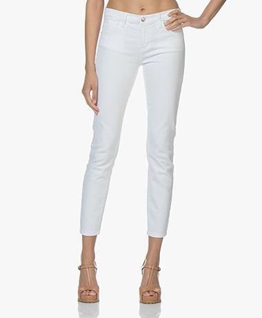 Current/Elliott The Stiletto Skinny Jeans - White 0 Years Worn