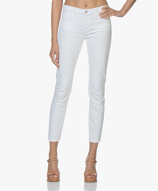 Current/Elliott The Stiletto Skinny Jeans - Wit 0 Years Worn