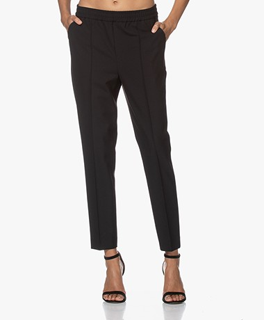 Filippa K Fiona Peg Taps Toelopende Pantalon - Zwart