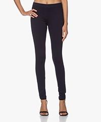 Repeat Viscosemix Jersey Slim-fit Broek - Navy