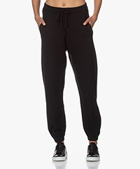 American Vintage Tadbow Merino Gebreide Sweatpants - Zwart