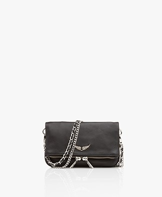 Zadig & Voltaire Rock Nano Schoudertas/Clutch - Black