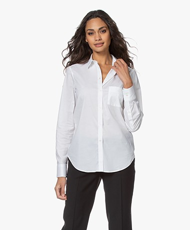 Filippa K Classic Stretch Shirt - White