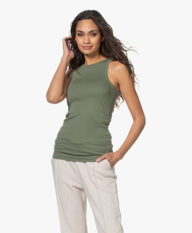 By Malene Birger Amiee Tank Top - Clover Green