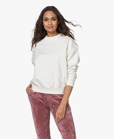 Drykorn Resali Biologisch Katoenen Sweatshirt - Off-white