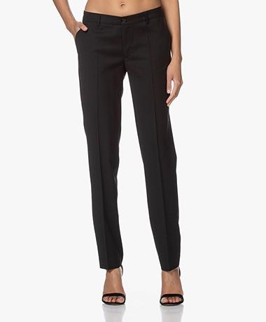 Filippa K Luisa Cool Wool Pantalon - Zwart