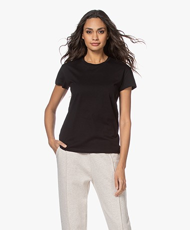 By Malene Birger Rionn Organic Cotton T-shirt - Black