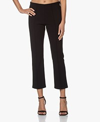 By Malene Birger Viggie Bonded Jersey Pants - Black