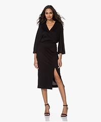 Filippa K Irene Lyocell Jersey Dress - Black