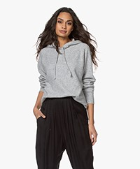 Rails Aster Cashmere Blend Hooded Sweater - Heather Grey