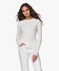 American Vintage Damsville Slim-fit Sweater - Off-white