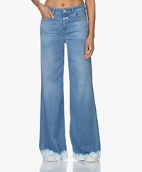 Closed Glow-Up Flared Jeans - Light Blue