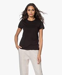 By Malene Birger Rionn Organic Cotton T-shirt - Black