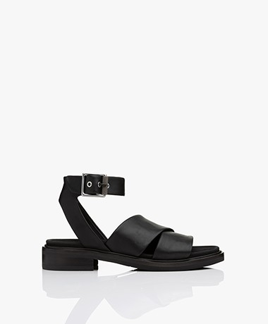 Rag & Bone Slayton Leather Sandals - Black
