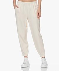 American Vintage Kyobay Crinkle Pants - Naturel
