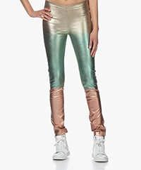 Zadig & Voltaire Pharel Metallic Leren Broek - Multi-color
