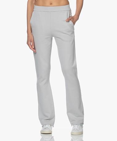by-bar Joa Organic Cotton Sweatpants - Illu Grey