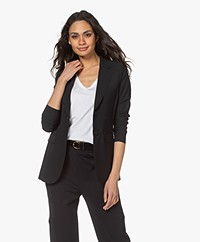 JapanTKY Yuu Tailored Blazer - Deep Black