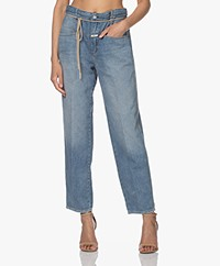 Closed Anni Relaxed-fit Organic Cotton Jeans - Mid Blue