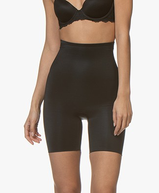 SPANX® Conceal-Her! High-Waisted Mid-Thigh Short - Very Black