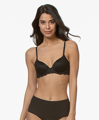 SPANX® Undie-tectable Demi Bra - Very Black