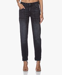 Drykorn Cushy Loose-fit Jeans - Dark Grey