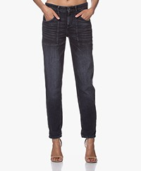 Drykorn Cushy Loose-fit Jeans - Donkergrijs