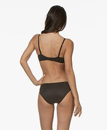 Calvin Klein Perfectly Fit Invisible Slip - Zwart