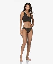 Calvin Klein Perfectly Fit Invisible String - Zwart