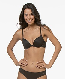 Calvin Klein Perfectly Fit Push-up BH - Zwart