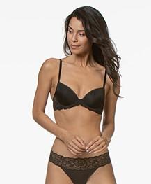 Calvin Klein Seductive Comfort Demi BH - Zwart
