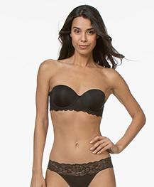 Calvin Klein Seductive Comfort Strapless Bra - Black