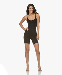 SPANX® OnCore Mid-Thigh Bodysuit - Black
