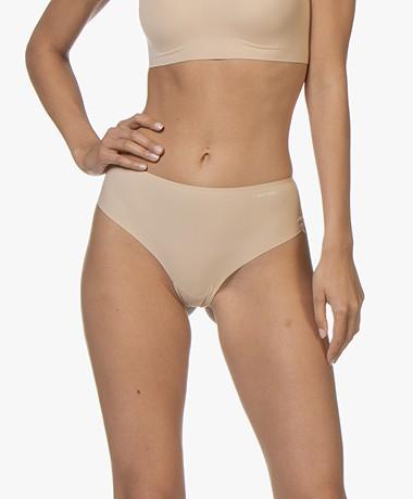 Calvin Klein Invisibles High Waist Thong - Bare